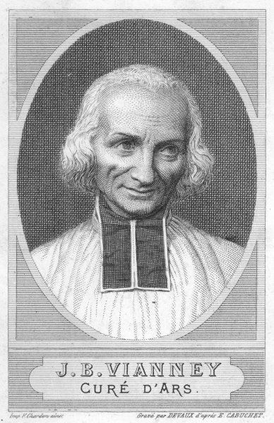 JEAN-BAPTISTE VIANNEY French parish priest, much harassed by demons