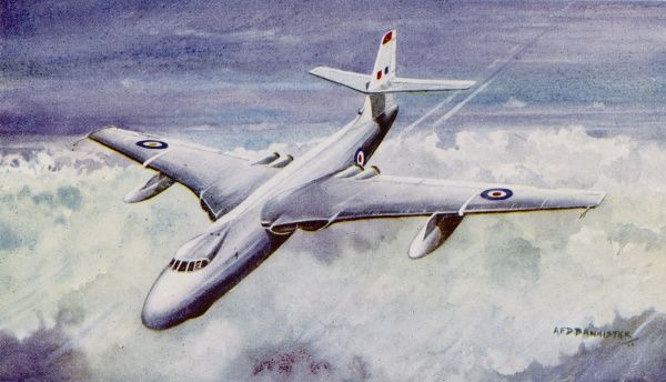 Valiant B1, with Rolls Royce engines, maximum speed in excess of 600 mph