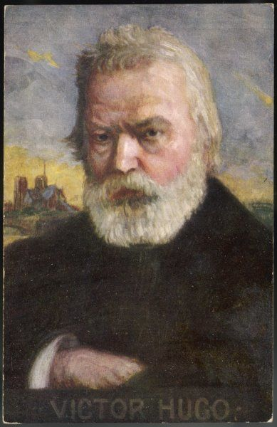 VICTOR HUGO French novelist in old age