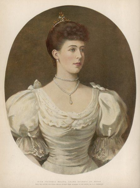 VICTORIA MELITA Grand Duchess of HESSE (formerly of Saxe-Coburg)