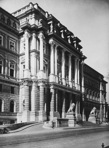 Vienna Palace of Justice, the former Imperial High Court