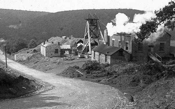View of a colliery in the Forest of Dean, Gloucestershire