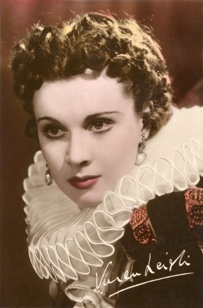 VIVIEN LEIGH English actress of stage and film in 'Fire Over England' (1936)