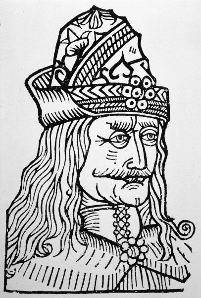 VLAD DRAKUL (Vlad the Devil) Romanian prince of Walachia Partial basis for legendary Dracula