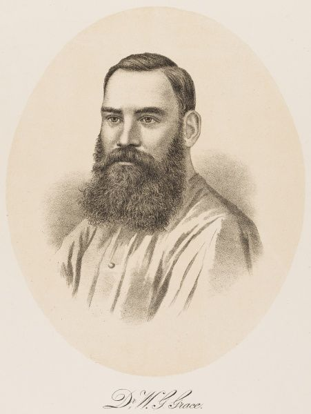 English cricketer. Played for England in Test matches against Australia in 1880 and 1882 and amassed a mighty 54,896 runs in first class cricket over a 43 year career