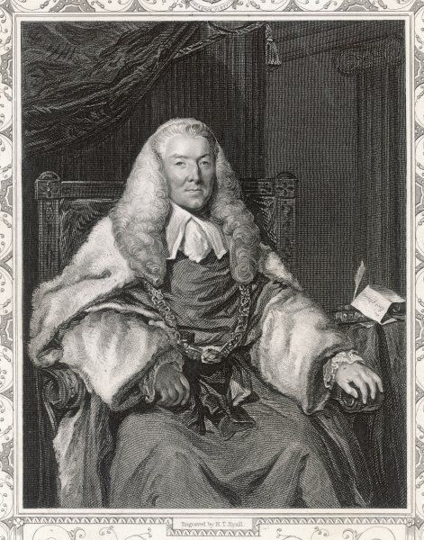 1ST EARL OF MANSFIELD William Murray M.P. and lord chief justice