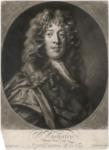 WILLIAM WYCHERLEY English dramatist at the age of 28