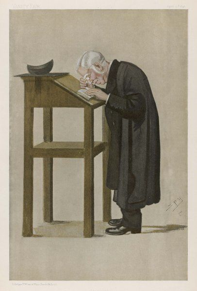 WILLIAM ARCHIBALD SPOONER English clergyman and academic of New College, Oxford, best known for his Spoonerisms