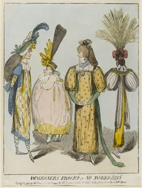 Waggoners Frocks or no bodys of 1795