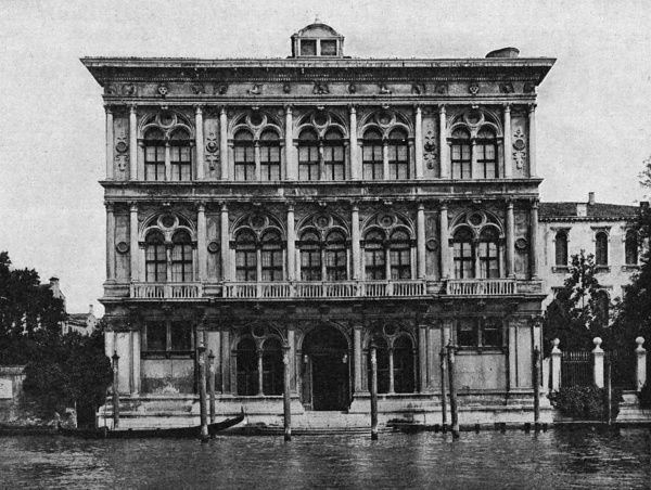 RICHARD WAGNER Palazzo Vendramin, Venice, where the German composer died on 13 February 1883 Date: 1813 - 1883