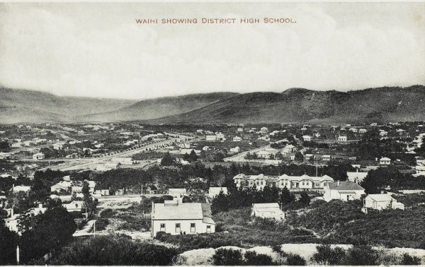 District High School in Waihi, New Zealand