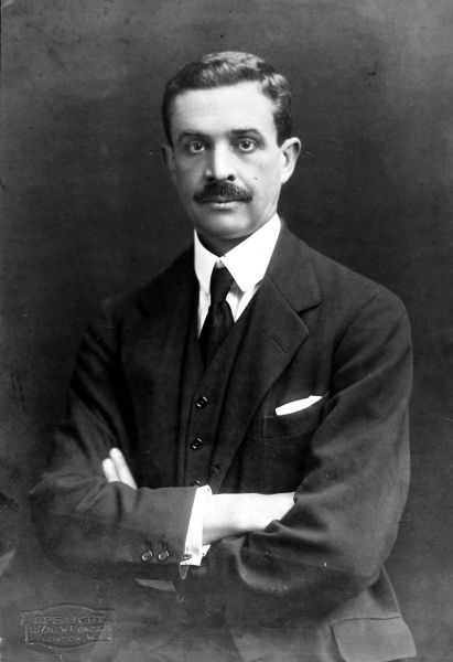 Photographic portrait of Waldorf Astor, 2nd Viscount Astor (1879-1952), the British politician and businessman