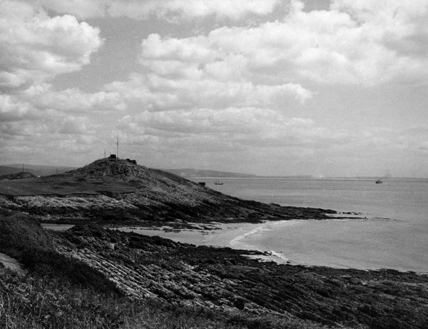 Mumbles Head, Swansea Bay, Glamorganshire, Wales, a beauty spot on the Gower Peninsula. Date: 1960s