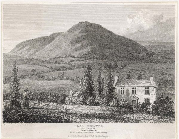 Plas Newydd nr. Llangollen, Denbighshire: seat of Lady Eleanor Butler and Miss Ponsonby, known as the ladies of Llangollen