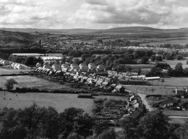 Ystradgynlais, in the Swansea Valley, Glamorgan, Wales. Date: 1950s