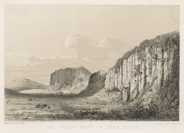 One of the most famous views of Hadrian's Wall is the section which runs atop the limestone crags, west of Crag Lough