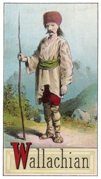 A Wallachian man of Romania