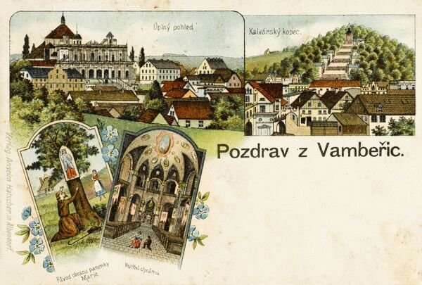 Wambierzyce (Vamberic / Vamberice), the 'Silesian Jerusalem', is one of the most popular pilgrimage sites in southern Poland