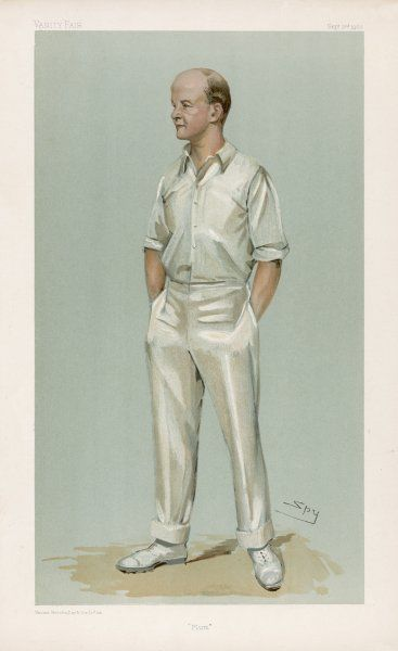 Sir Pelham Francis Warner ('Plum'), English cricketer (1873-1963)