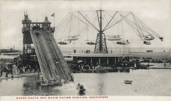The Water Shute and Maxim Flying Machine, Southport