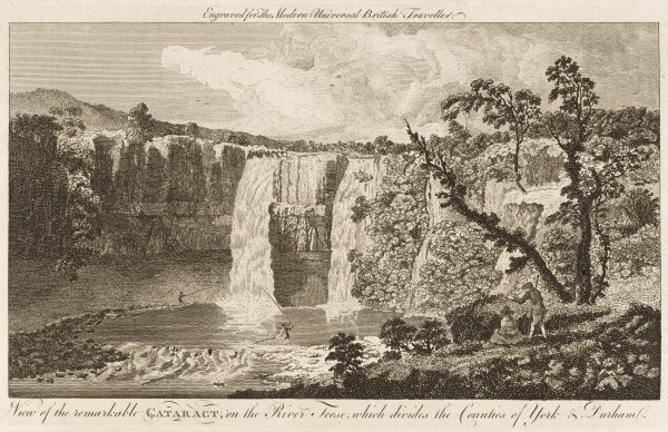HIGH FORCE on the Tees, Yorkshire