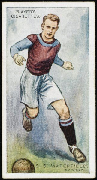 G S Waterfield, Defender for Burnley