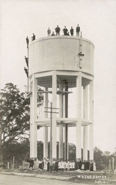 Opening of a watertower in Australia