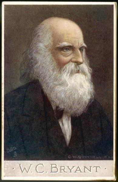 WILLIAM CULLEN BRYANT American poet and editor