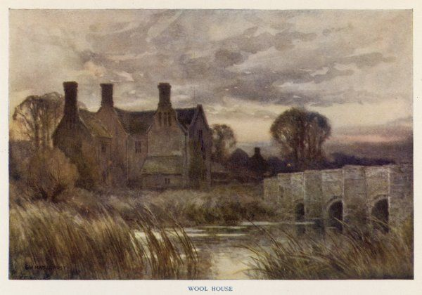 Wessex scenery: Wood Manor House, the model for Wellbridge in Thomas Hardy's novel 'Tess of the d'Urbervilles&#39