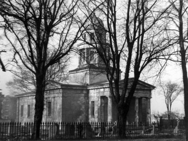 The Mausoleum, West Markham, Nottinghamshire, England, the church built in 1831 for the Duke of Newcastle. The architect was Robert Smirke. Date: 19th century