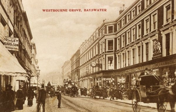 Whiteleys department store, Westbourne Grove, Bayswater. Date: circa 1905