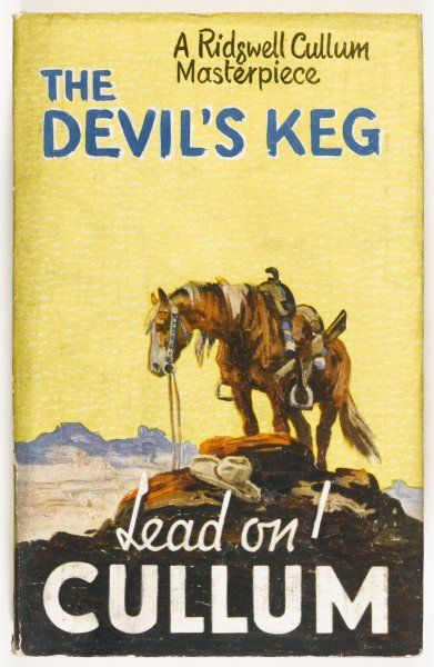 'THE DEVIL'S KEG' by Ridgwell Cullum