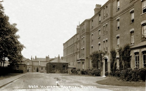 Part of the Western Fever Hospital, which was opened in 1877 on Seagrave Road, Fulham, south west London
