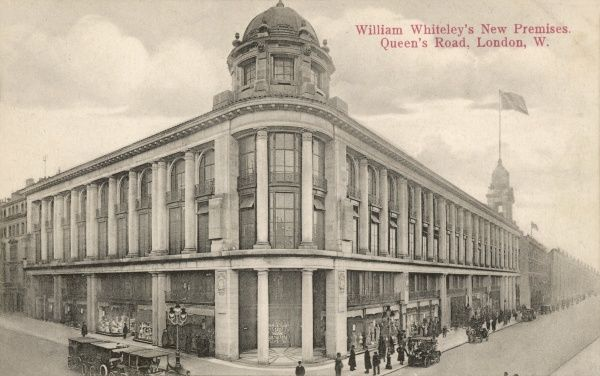 The new Whiteleys shop in Queen's Road, London, England