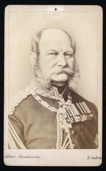 KAISER WILHELM I King of Prussia and Emperor of Germany, circa 1870