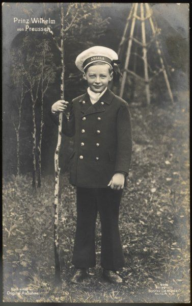 PRINCE WILHELM OF PRUSSIA Son of Crown Prince Wilhelm, in 1913