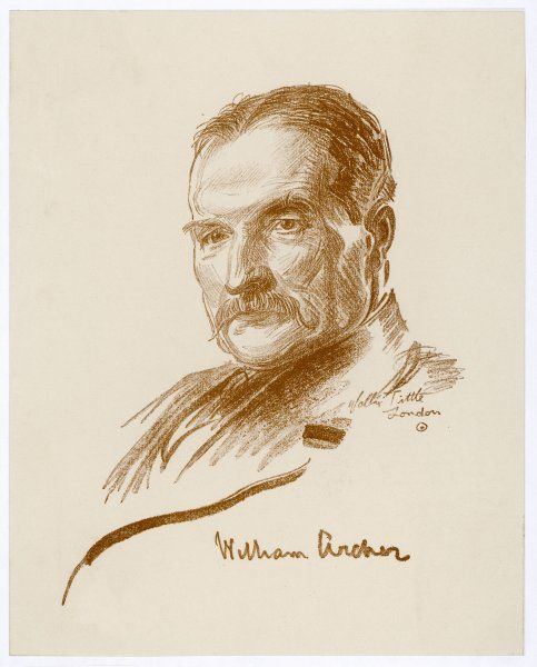 WILLIAM ARCHER Writer; noted for his translations of Ibsen