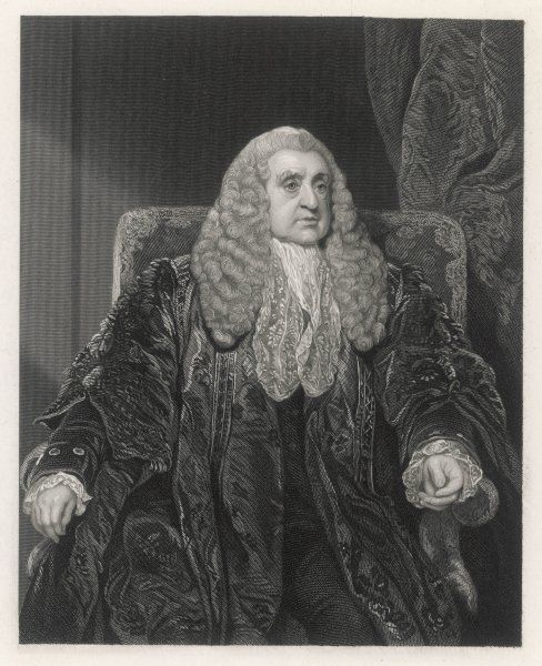 WILLIAM SCOTT, baron STOWELL judge of the High Court of Admiralty, in his robes