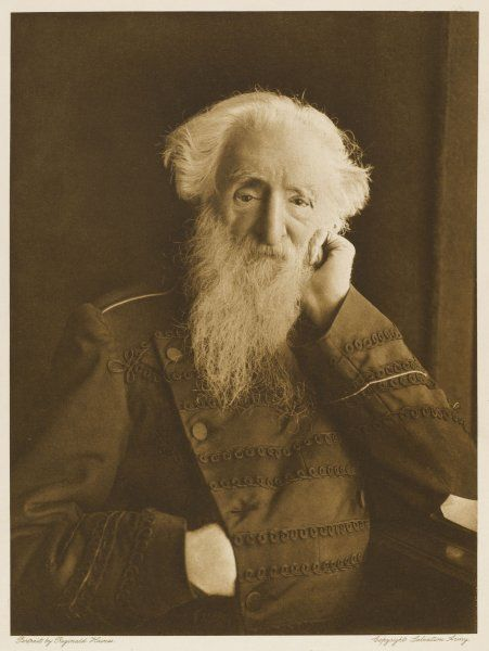 GENERAL WILLIAM BOOTH English religious leader and founder of Salvation Army Photographed circa 1911