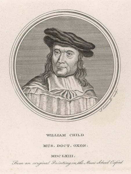 WILLIAM CHILD Doctor of music at Oxford, composer