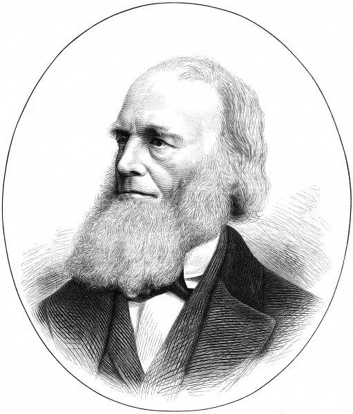 WILLIAM CULLEN BRYANT American writer, journalist and educator, known for his poem 'Thanatopsis'. Date: 1794 - 1878