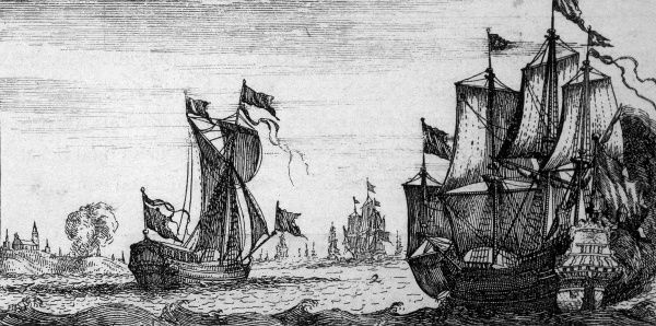William III lands on the South coast of England, near Brixham before heading to Exeter Date: 1688