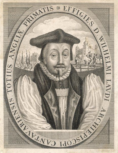WILLIAM LAUD Prelate; became Archbishop of Canterbury in 1633