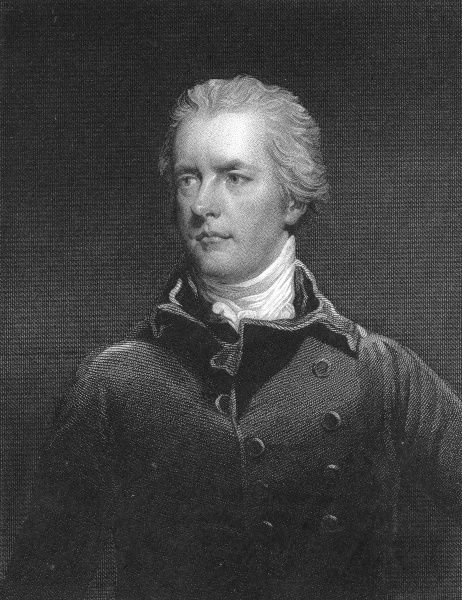 Engraving of William Pitt, the second son of the Earl of Chatham, who came to be known as Pitt the Younger. In 1783 Pitt became Britain's youngest Prime Minister, by taking the post at the age of 24