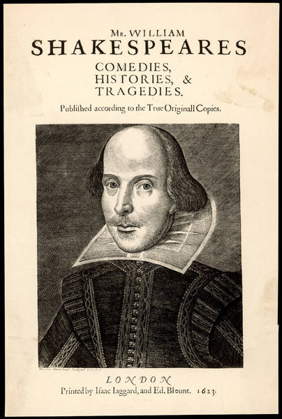 WILLIAM SHAKESPEARE English dramatist and poet