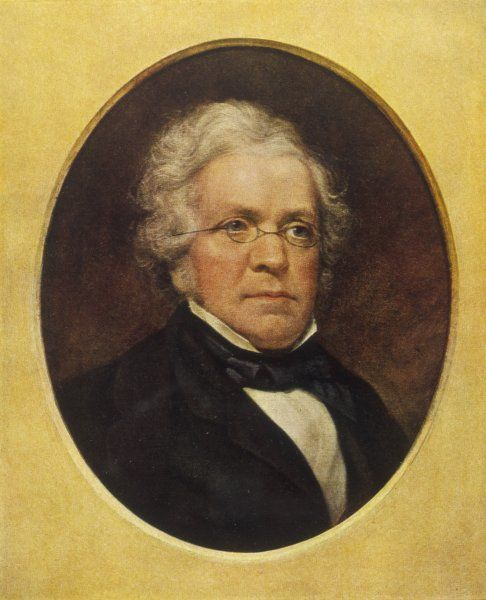 WILLIAM MAKEPEACE THACKERAY English novelist in 1855-56