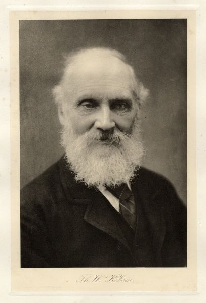William Thomson, 1st Baron Kelvin of Largs (1824-1907), British mathematical physicist and engineer