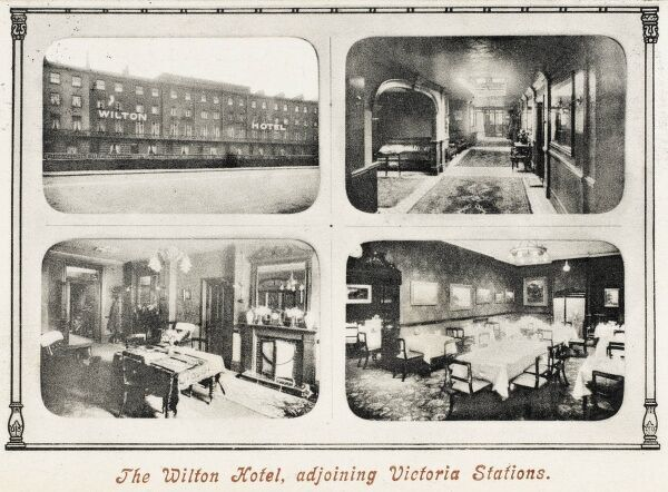 The Wilton Hotel - adjoining Victoria Stations, Pimlico, London