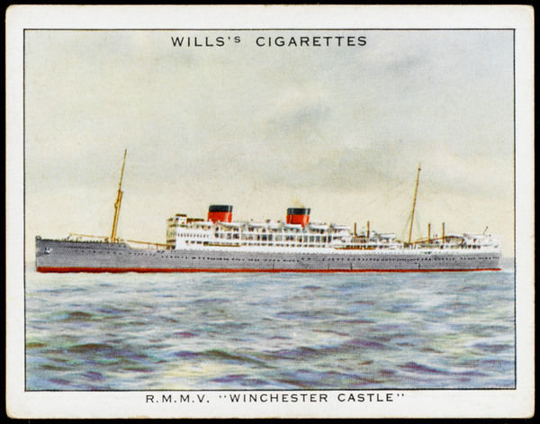 Passenger liner of the Union Castle line