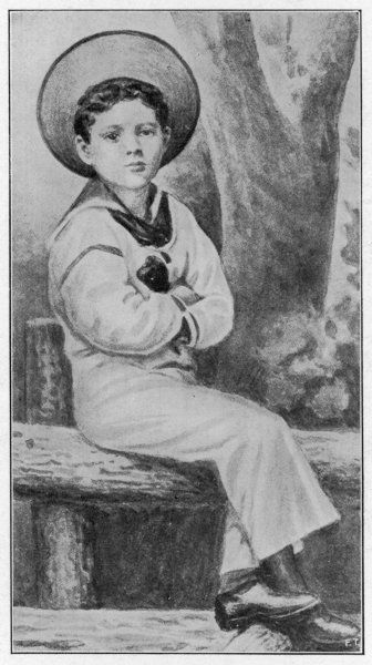 WINSTON CHURCHILL At age 5, dressed in a sailor suit